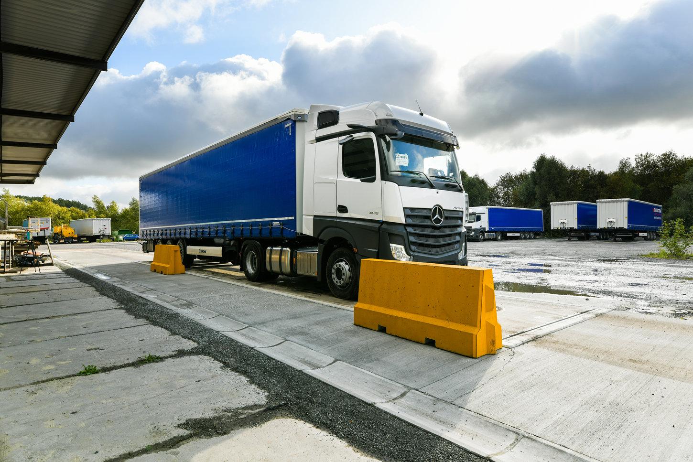 Wagi dla samochodów ciężarowych